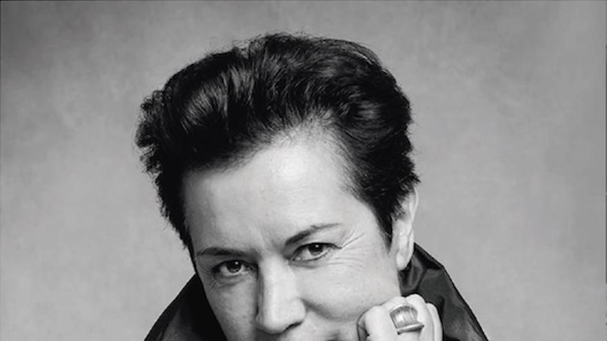 La maquilladora Carmen Asensio.