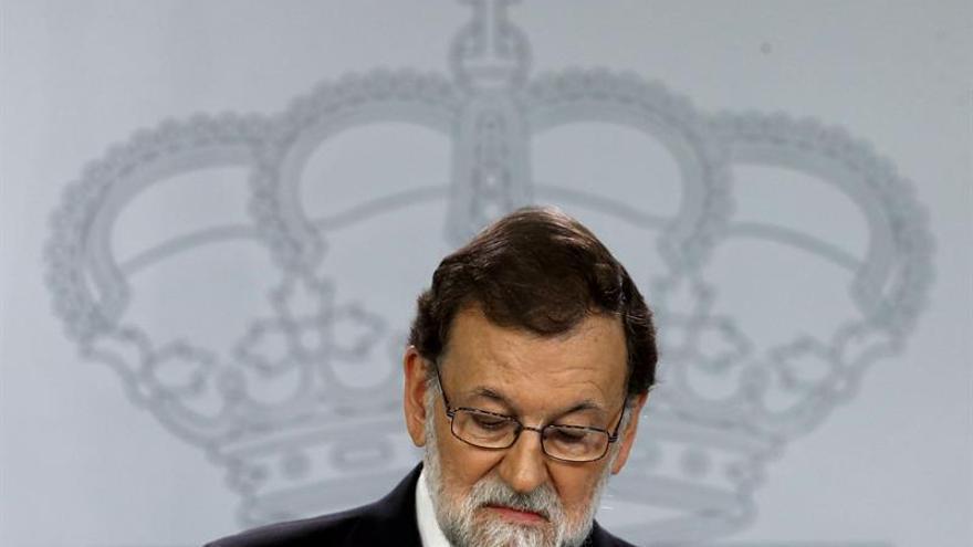 Mariano Rajoy, presidente del Gobierno y virrey de Cataluña.