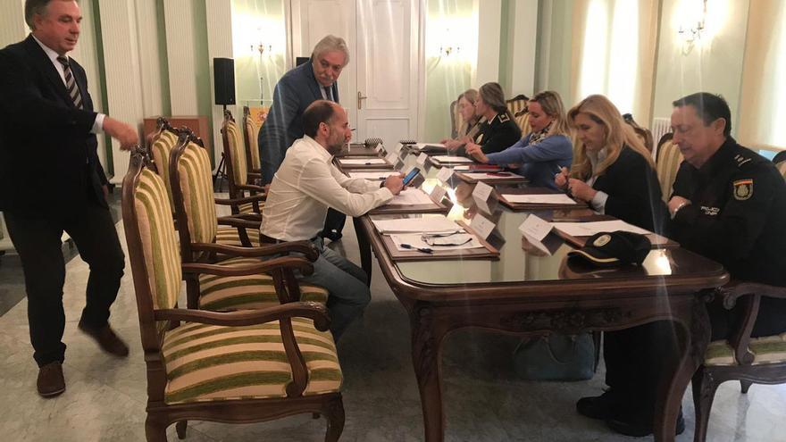 Reunión de la Junta Local de Seguridad de Ourense, este 15 de octubre