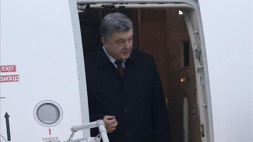 """Poroshenko advierte de que """"si la cumbre fracasa, la situación en el este será irreparable"""""""