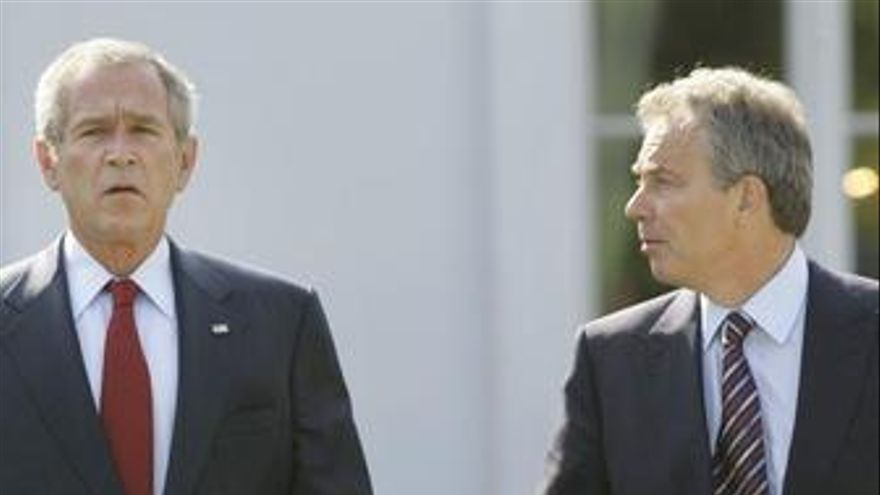 Blair decidió apoyar el cambio de régimen en Irak tras una reunión con Bush