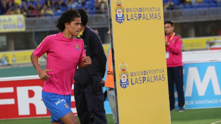 Mauricio Lemos, antes del partido contra el Real Madrid