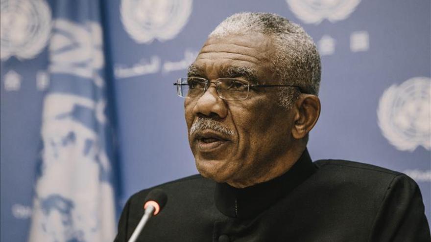 """Presidente de Guyana pide celebrar una """"segunda independencia"""" por la unidad"""