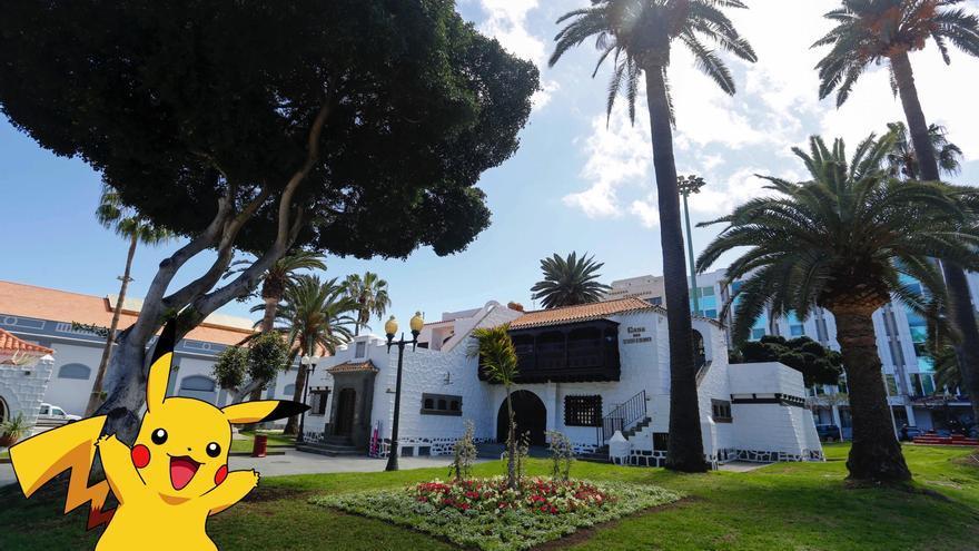 La Casa del Turismo de la capital grancanaria se convierte en 'Pokeparada'