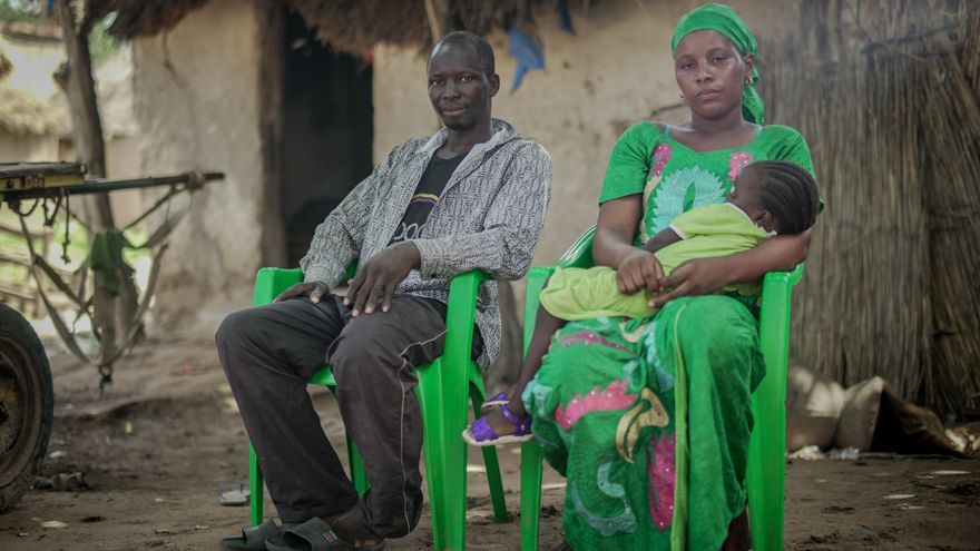 Fatou Diaby y Saraba Keita