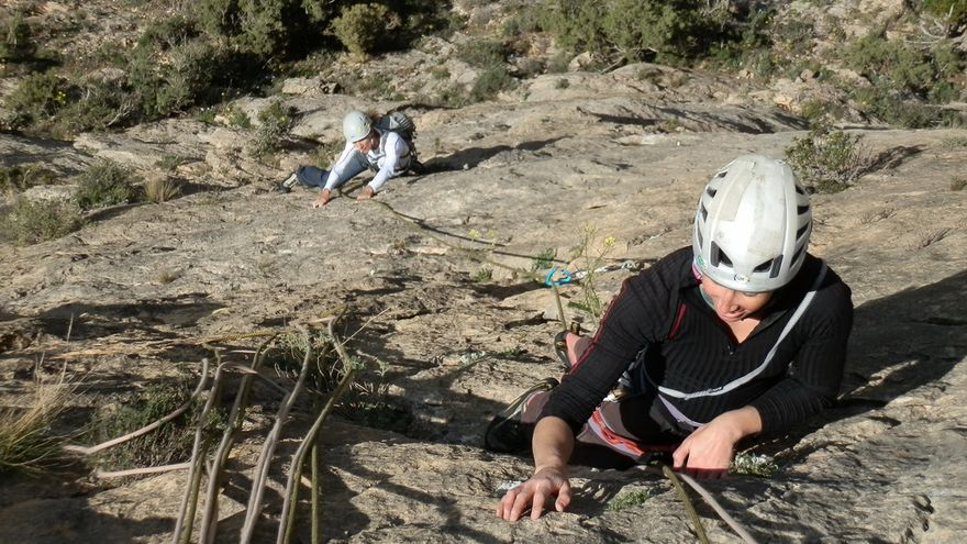 Equipo Femenino de alpinismo (EFA), Concentración en el Montsec, Pre Pirineo leridano y aragonés