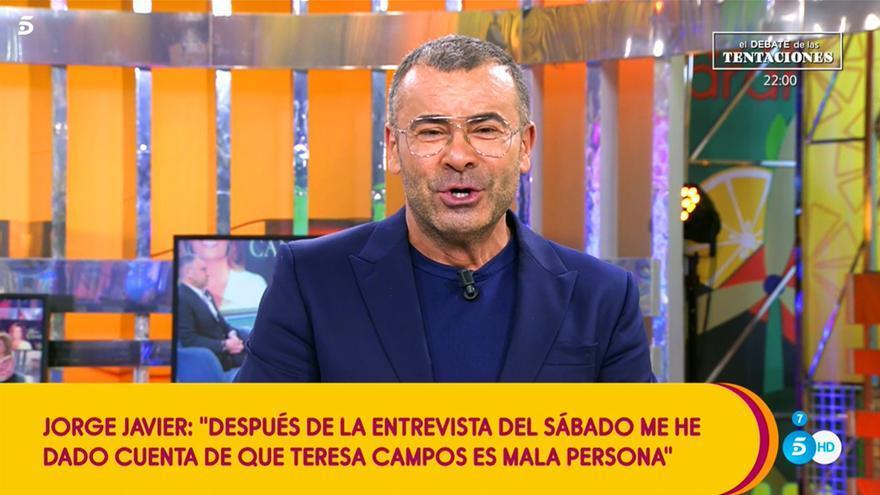 Jorge Javier Vázquez en 'Sálvame'