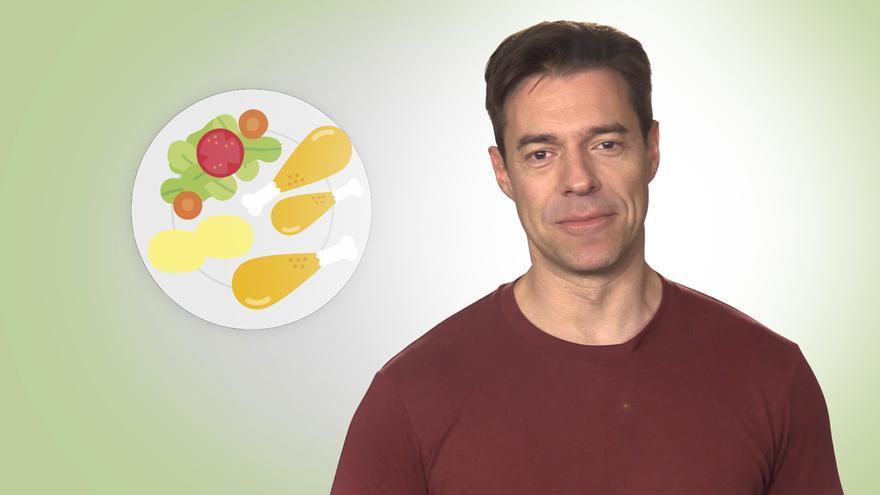 Comer más para adelgazar