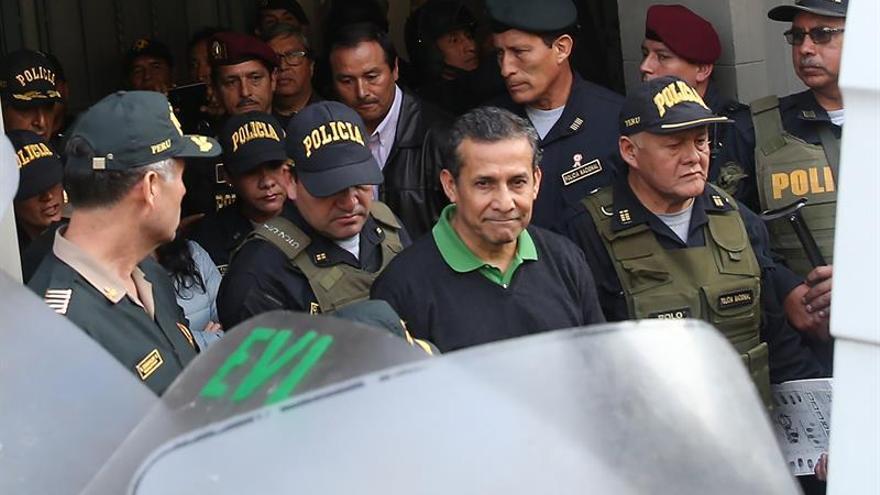 Humala y Heredia pasaron su primer día en la cárcel a la espera de la apelación