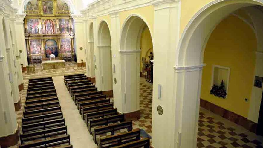 Interior de la Concatedral de Santa María de Guadalajara / Obispado