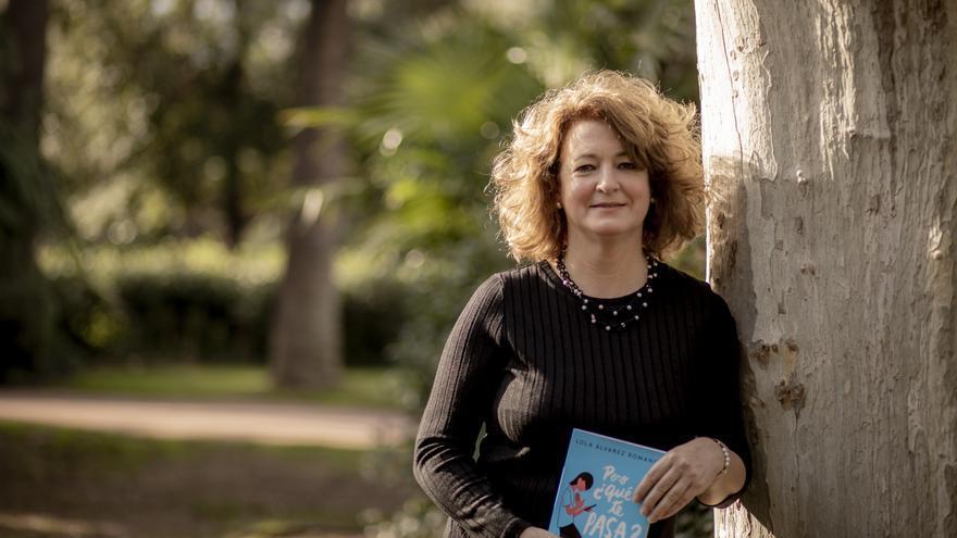 Lola Álvarez, psicoterapeuta de niños y adolescentes y autora de 'Pero ¿qué te pasa?'