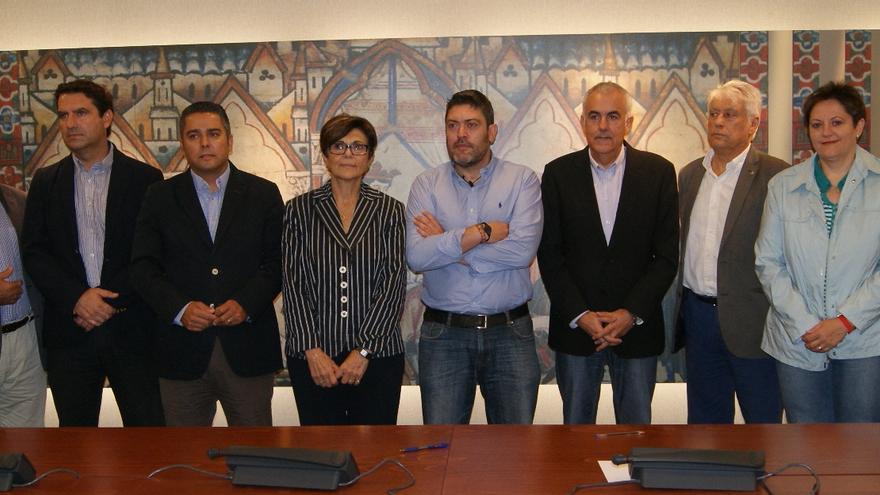 Miembros de la Comisión de Investigación sobre la desalinizadora de Escombreras