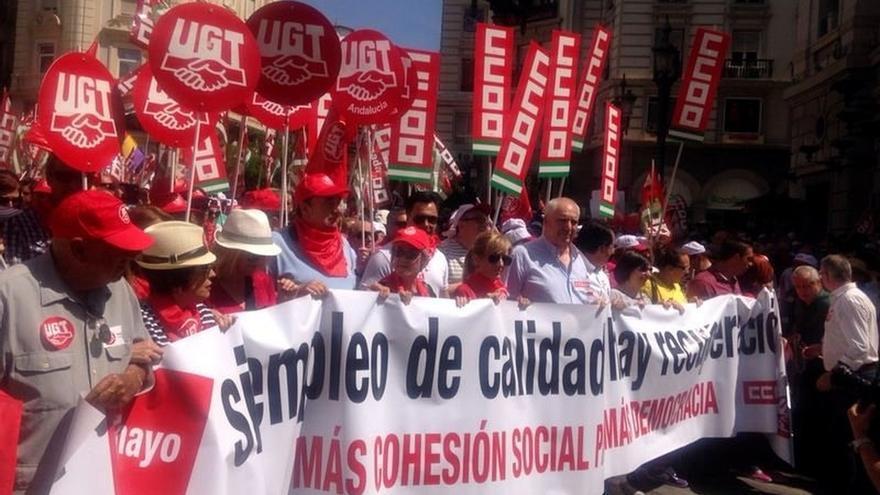 """Miles de personas claman en Andalucía por un """"cambio de rumbo"""" en las políticas hacia la justicia social"""