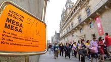 La participación se frena en Galicia y crece menos de medio punto con respecto 2016 a las 17 horas