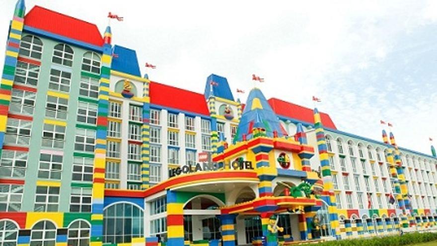 El hotel Malasia, en Legoland. Foto: web oficial