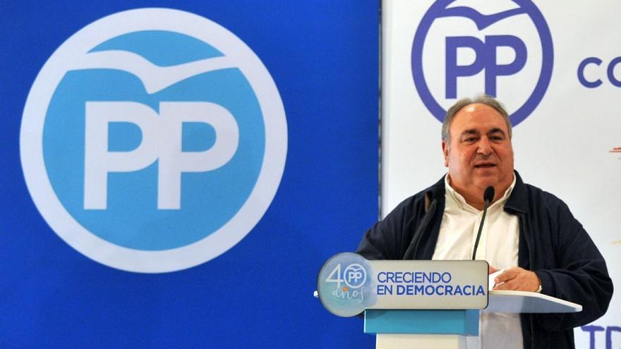 """Tirado cree que Cospedal hará """"lo que más le interese al PP"""" en el proceso para elegir nuevo presidente nacional"""