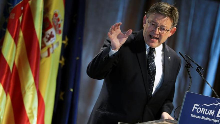 Puig pide que se aparten quienes no son capaces de dialogar sobre Cataluña