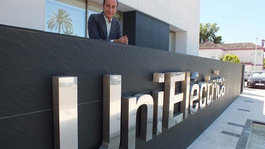 Diego Montes, director gerente de Unieléctrica, en la sede de la empresa.