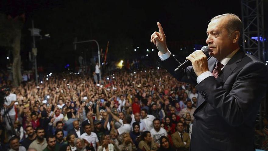 El presidente de Turquía, Recep Tayyip Erdoğan