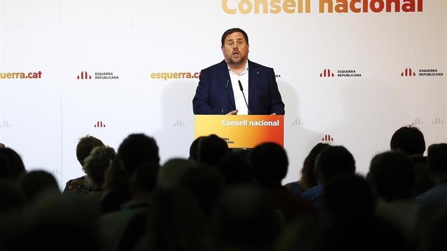 """Junqueras ve """"irresponsable"""" al Gobierno por """"poner en riesgo la seguridad"""""""