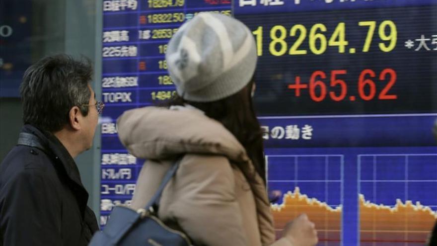 El Nikkei sube un 0,42 por ciento hasta los 18,831.02 puntos
