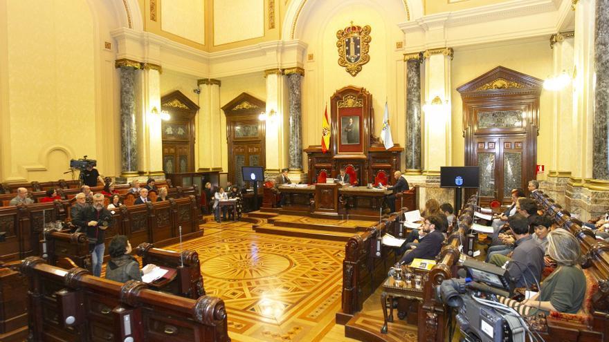 Pleno del Ayuntamiento de A Coruña, este 1 de abril