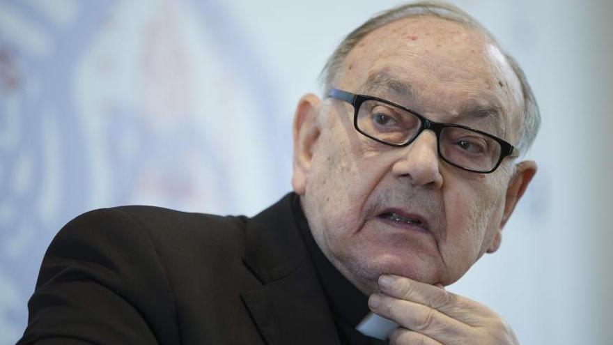 """La homosexualidad """"es una deficiente sexualidad"""", según el cardenal Sebastián Aguilar."""