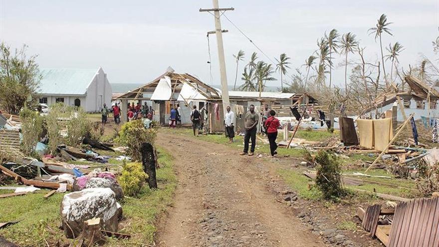 Fiyi estima en 460 millones de dólares los daños por el ciclón Winston