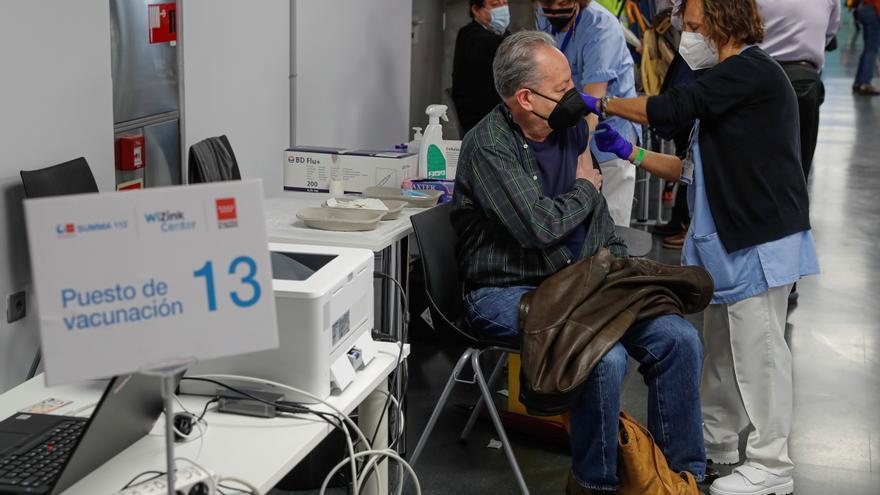 Madrid extenderá la vacunación nocturna al WiZink Center a partir del jueves