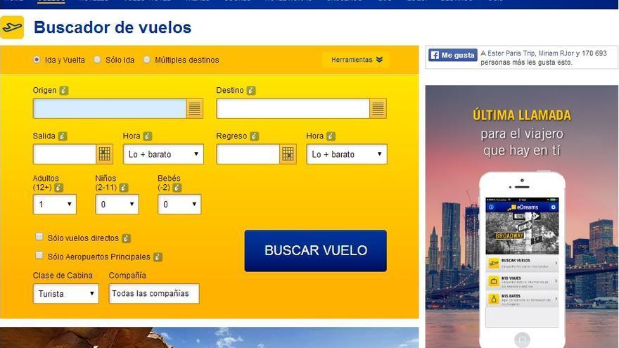 eDreams fue pionero en los viajes por Internet en España.