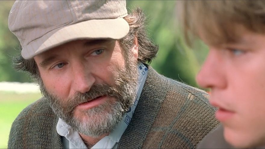 Robin Williams en El indomable Will Hunting