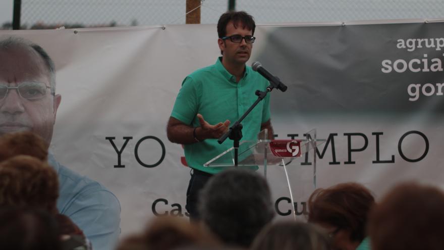 Adasat Reyes, candidato de ASG al Ayuntamiento de San Sebastián