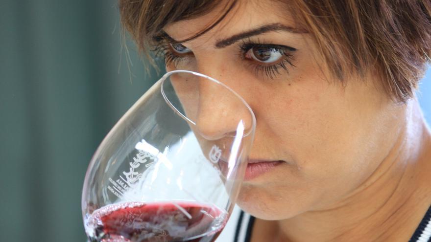 Imagen de archivo de una cata de vinos.
