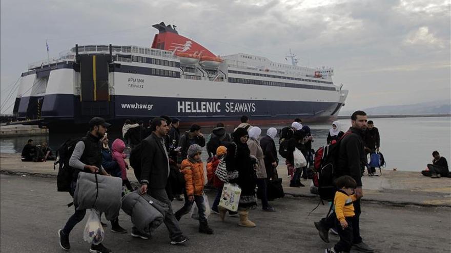 Lesbos cobija 16.000 refugiados pero sólo tiene capacidad para acoger a 2.800