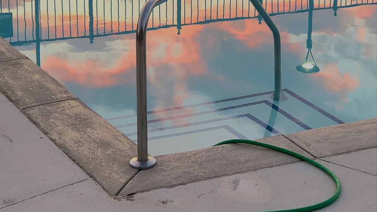 Una piscina, en una imagen de archivo