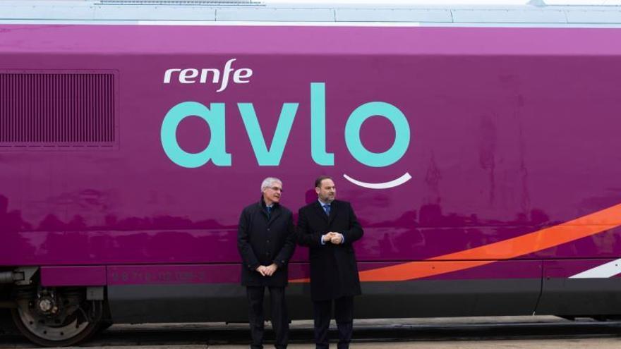 """El AVE """"low cost"""" se llamará AVLO y empezará el 6 de abril en el trayecto Madrid-Barcelona"""