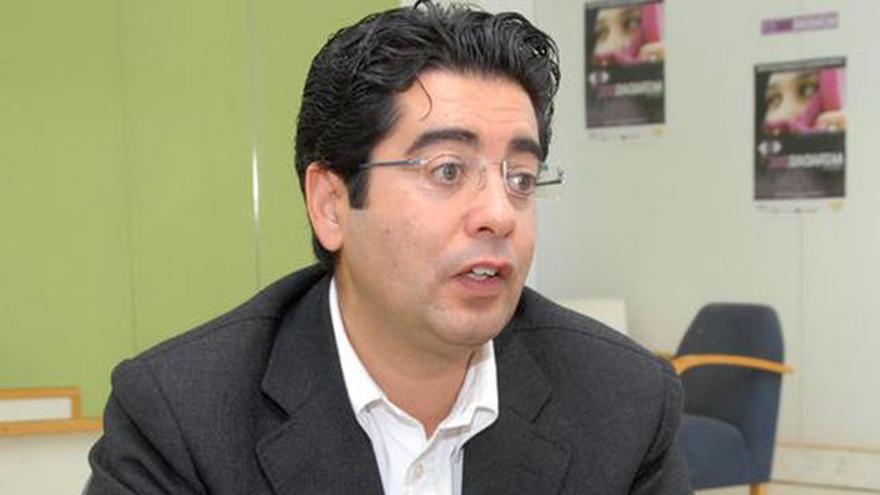 Pedro Martín, alcalde de Guía de Isora, en una imagen de archivo