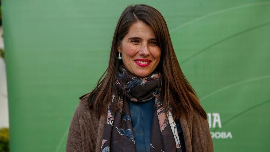 Araceli Cabello, cuando fue nombrada como delegada provincial de Agricultura