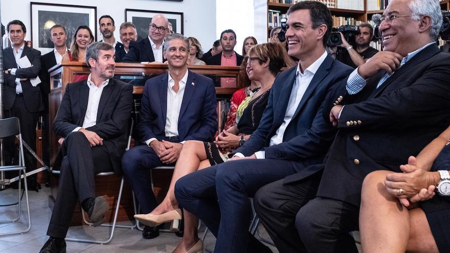Acto del homenaje al escritor José Saramago en Lanzarote.