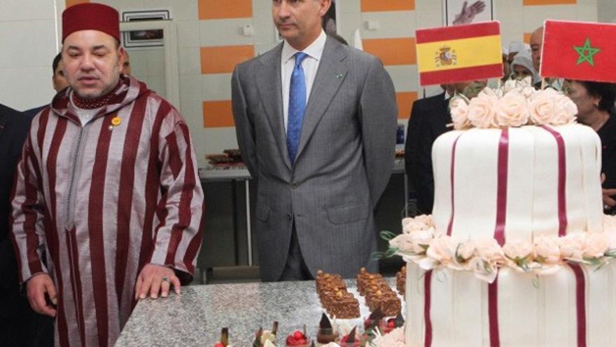 Los Reyes, de visita en Marruecos.