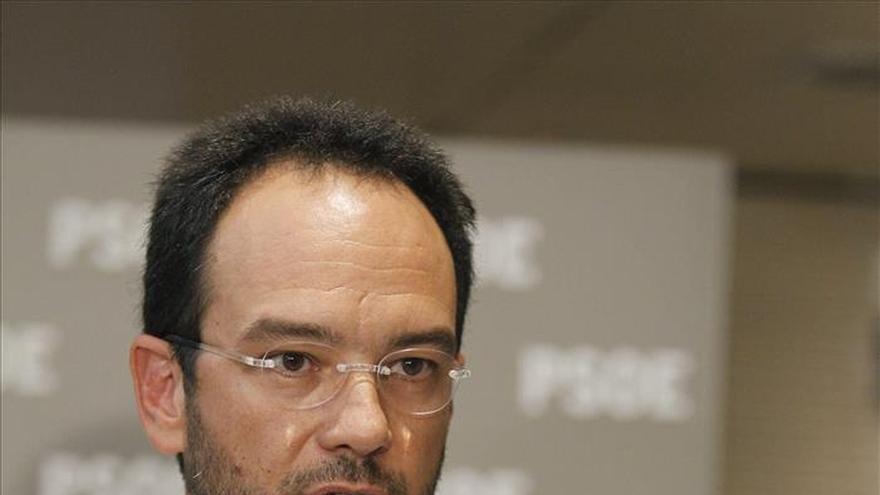 El portavoz del PSOE valora negativamente los Presupuestos Generales del Estado