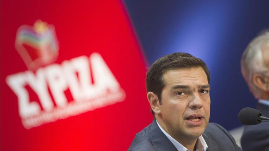 Syriza se sitúa como la fuerza con mayor intención de voto en Grecia