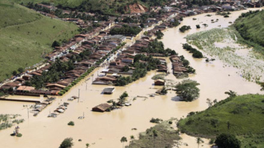 Inundaciones en Brasil