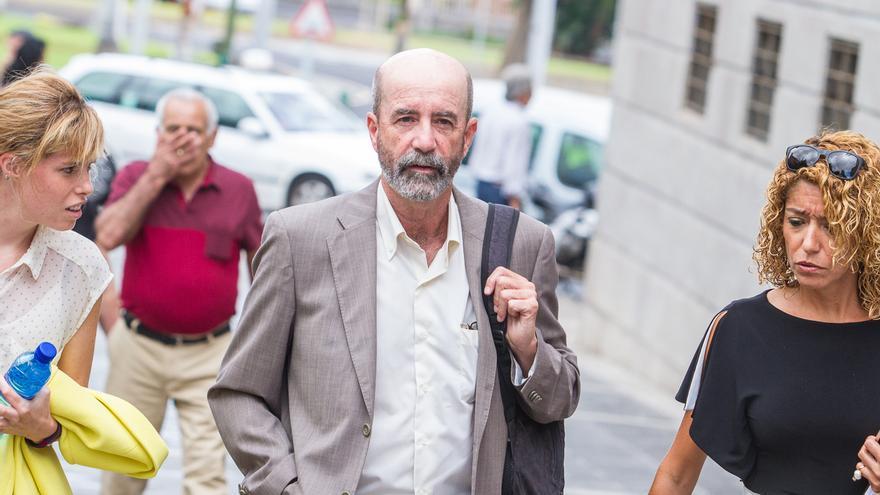 Santiago Pérez en el juicio de Las Teresitas