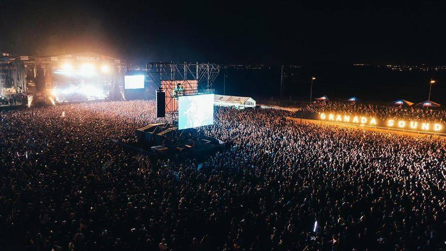 El festival Granada Sound congregó a miles de personas | Facebook Granada Sound