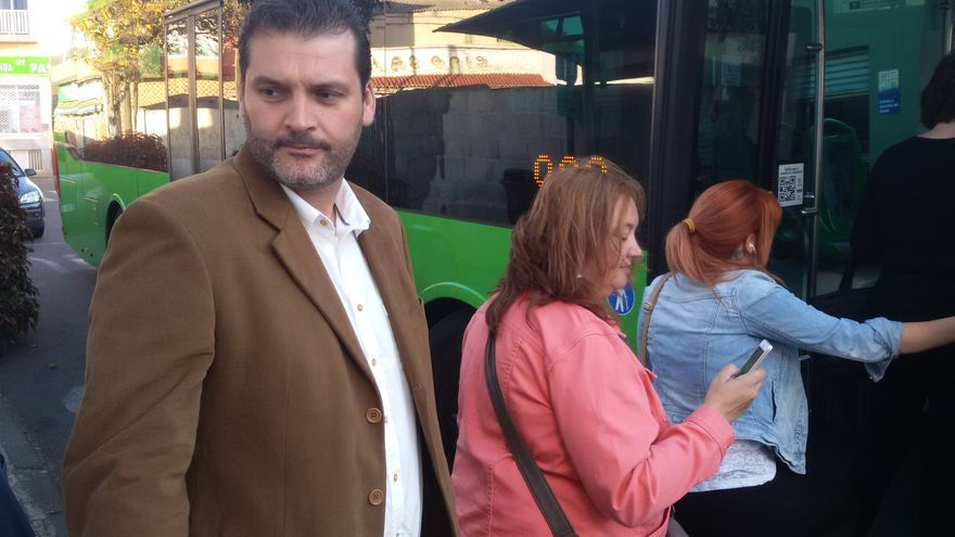 El candidato del PSOE a la Alcaldía de Santa Cruz, José Ángel Martín.