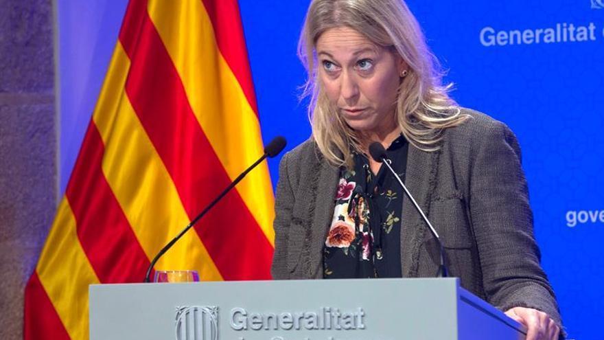 """El Govern catalán confía en que Millo propicie """"cambios"""" y facilite el """"diálogo"""""""