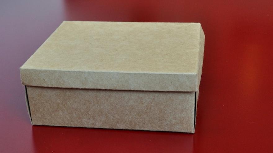 La caja (Foto: Marcelo)