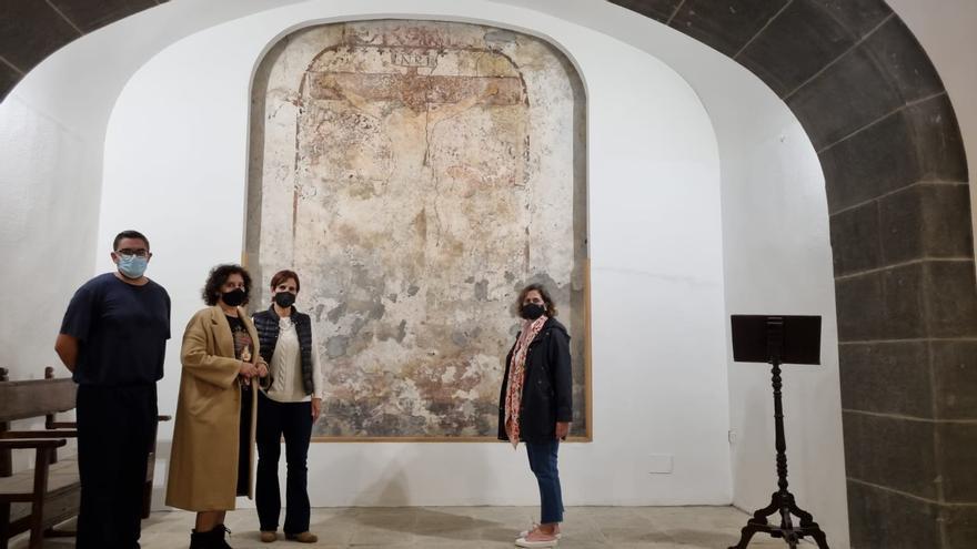 El Cabildo de La Palma abre las puertas de la capilla del Cristo de La Portería