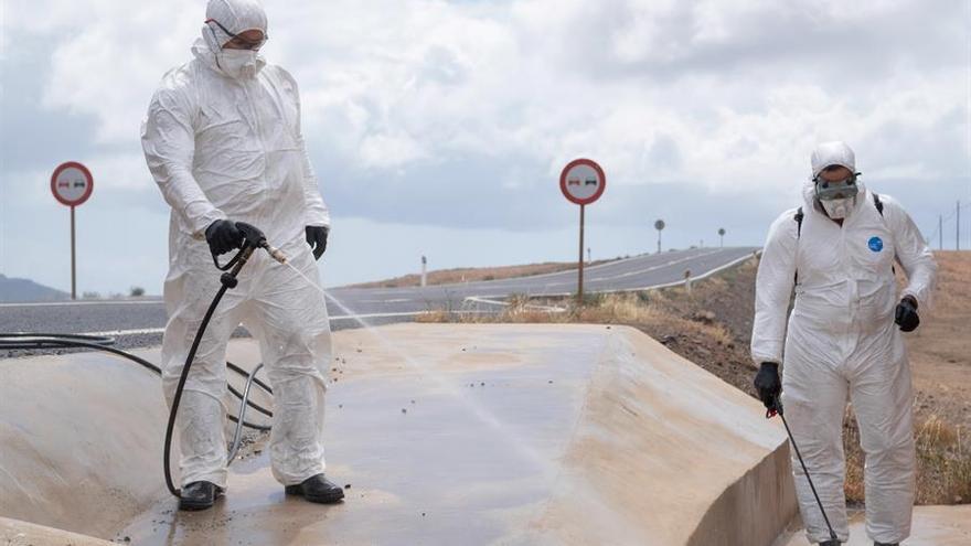 La Unidad Militar de Emergencias (UME), dependiente del Ministerio de Defensa, ha llegado este lunes a Fuerteventura.